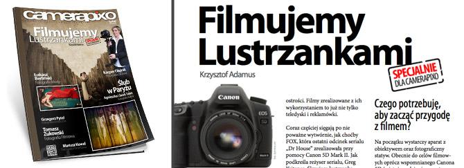 camerapixo - filmujemy lustrzankami